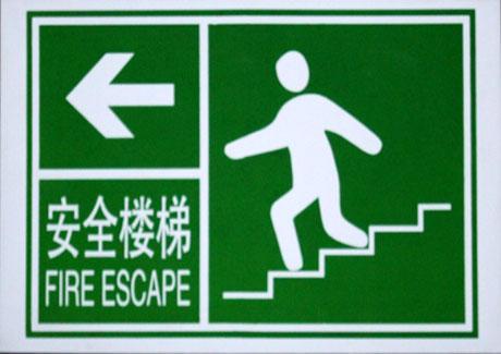 公共场所安全标志牌图片分享;